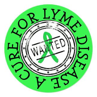 Lyme Disease Awareness, Never Give Up Card
