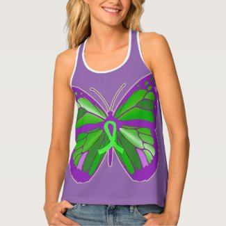 Lyme Disease Awareness Purple Butterfly Shirt