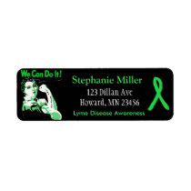 Lyme Disease awareness Return Address Labels