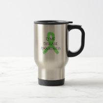 Lyme Disease Awareness Ribbon Coffee Mug