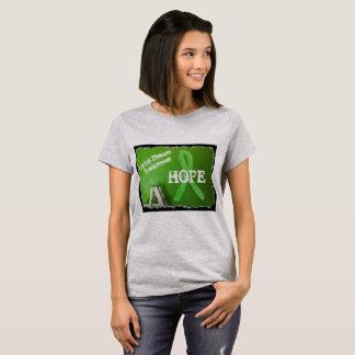 Lyme Disease Awareness Ribbon HOPE Tshirt