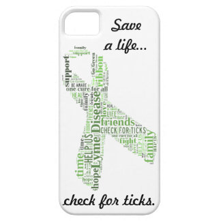 Lyme Disease Awareness Ribbon iPhone 5 Case