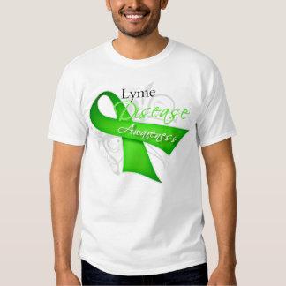 Lyme Disease Awareness Ribbon Tee Shirt