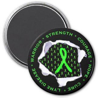 Lyme Disease Awareness Ribbons Stickers Magnet