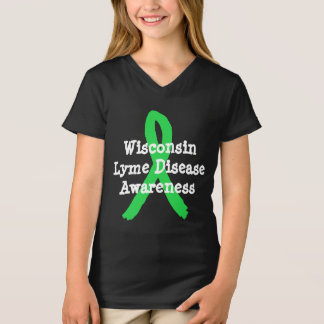 Lyme Disease Awareness Shirt for Wisconsin Lymie