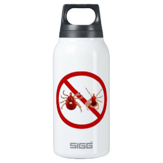 LYME DISEASE AWARENESS ! SIGG THERMO 0.3L INSULATED BOTTLE