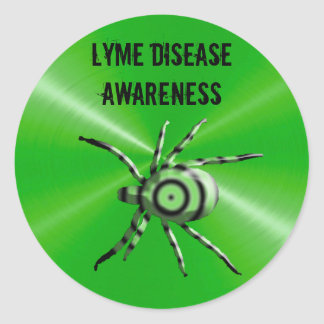 Lyme Disease Awareness Stickers
