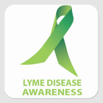Lyme Disease Awareness Stickers