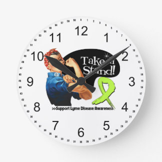 Lyme Disease Awareness Take a Stand Round Clock