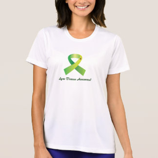 Lyme Disease Awareness Tic on Ribbon T-shirts