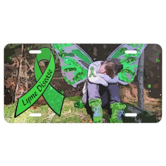 Lyme Disease Awareness Warrior License Plates