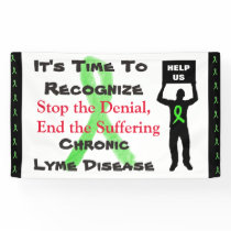 Lyme Disease Awareness We Wont Give Up Banner