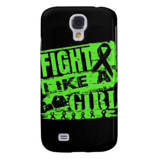Lyme Disease BurnOut Fight Like a Girl Samsung Galaxy S4 Cases