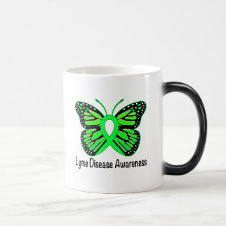 Lyme Disease Butterfly Awareness Ribbon Magic Mug