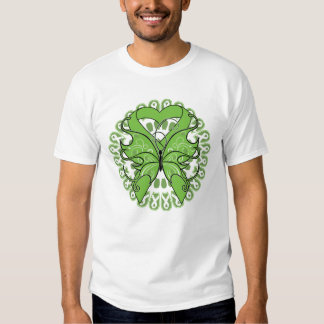 Lyme Disease Butterfly Circle of Ribbons Shirt