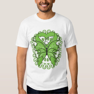 Lyme Disease Butterfly Circle of Ribbons T Shirt