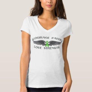 Lyme Disease Courage Faith Wings Shirt