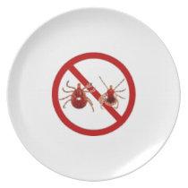 Lyme Disease Dinner Plate