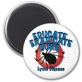 Lyme Disease - Educate, Eradicate, Cure Magnet
