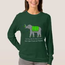 Lyme Disease Elephant of Awareness and Hope T-Shirt