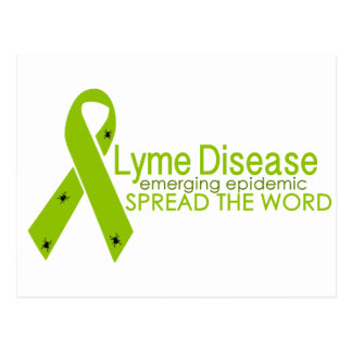Lyme Disease - Emerging epidemic - Spread the word Postcard