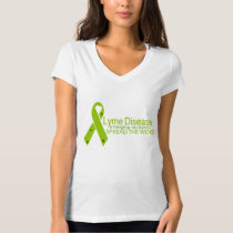 Lyme Disease - Emerging epidemic - Spread the word T-Shirt