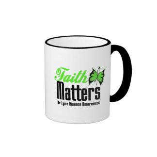 Lyme Disease FAITH MATTERS Mugs