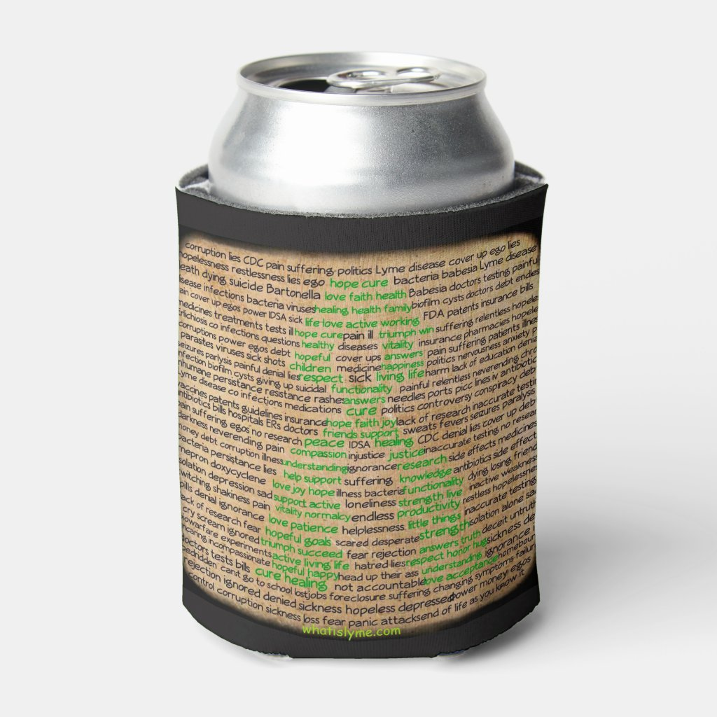 Lyme Disease Feelings Awareness Drink Holder