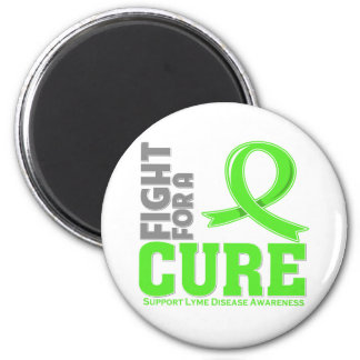 Lyme Disease Fight For A Cure 2 Inch Round Magnet