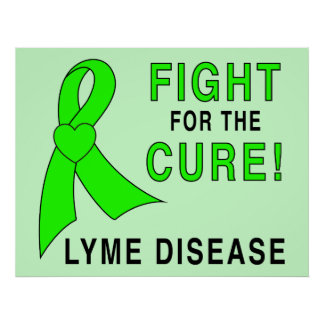 Lyme Disease Fight for the Cure Poster