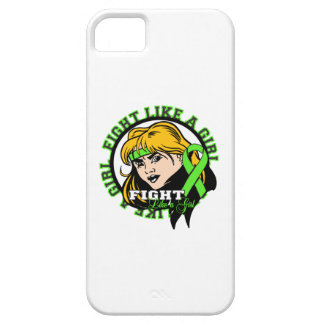Lyme Disease Fight Like A Girl Attitude iPhone 5 Case