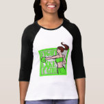 Lyme Disease Fight Like A Girl Boxer T Shirts