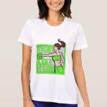 Lyme Disease Fight Like A Girl Boxer Tshirt