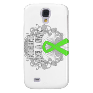 Lyme Disease Fight Like A Girl Fleurish Galaxy S4 Cover