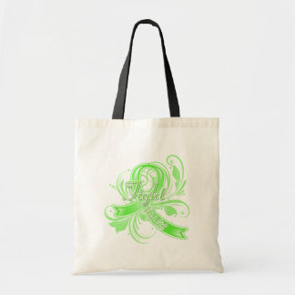 Lyme Disease Fight Like a Girl Flourish Bag