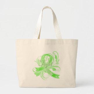 Lyme Disease Fight Like a Girl Flourish Bags
