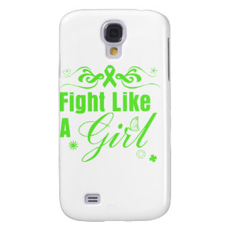 Lyme Disease Fight Like A Girl Ornate Samsung Galaxy S4 Cover