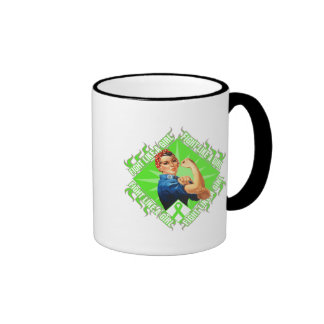 Lyme Disease Fight Rosie The Riveter Mug