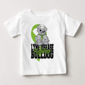 Lyme Disease Fighting Bulldog Baby T-Shirt