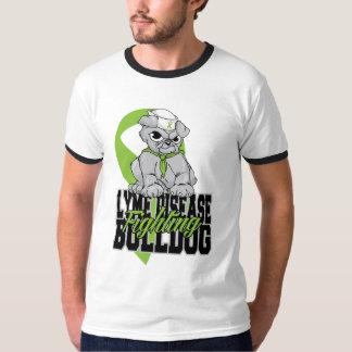Lyme Disease Fighting Bulldog T-Shirt
