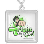 Lyme Disease Fist - Fight Like a Girl Necklaces