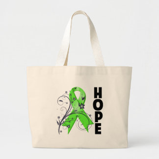Lyme Disease Floral Hope Ribbon Bags