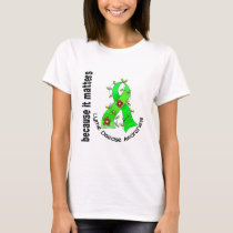 LYME DISEASE Flower Ribbon 3 T-Shirt