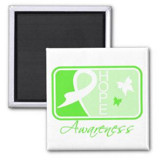 Lyme Disease Hope Awareness Tile 2 Inch Square Magnet