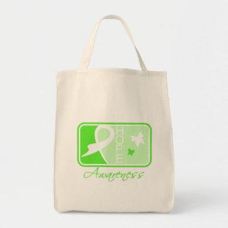 Lyme Disease Hope Awareness Tile Canvas Bag