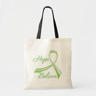 Lyme Disease - Hope Believe Tote Bag