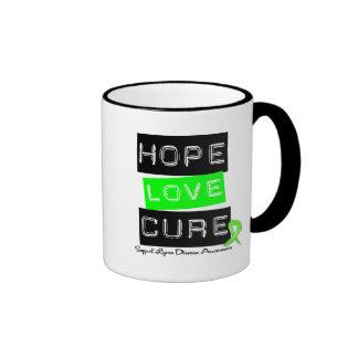 Lyme Disease Hope Love Cure Mugs