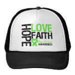 Lyme Disease Hope Love Faith Trucker Hats