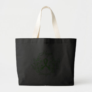 Lyme Disease Hope Motto Butterfly Bags