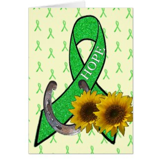 Lyme Disease Hope Support and Encouragement Card